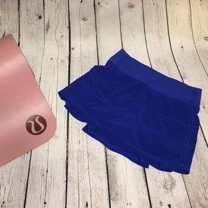 💙 lululemon Race Rival Skirt